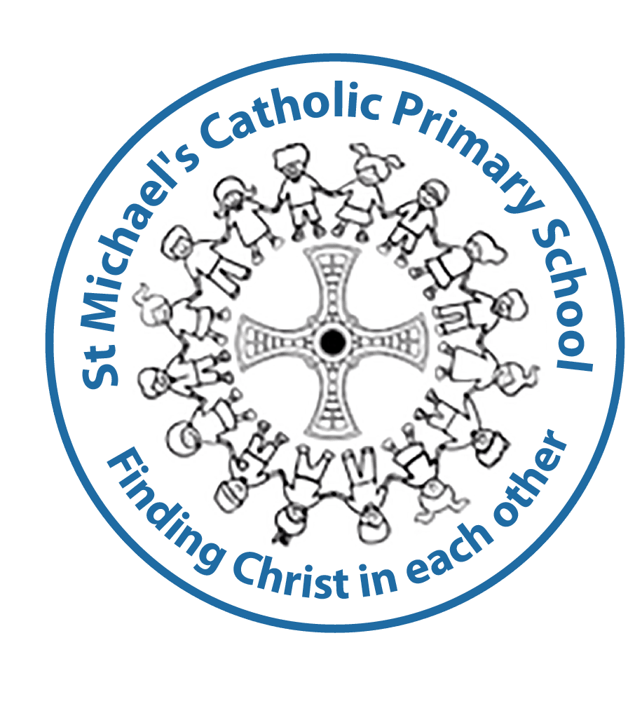 St Michael's RC Primary School logo